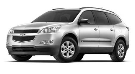 2012 Chevrolet Traverse, Front quarter view copyright Yahoo Autos. , manufacturer, exterior