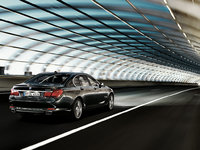 2012 BMW 7 Series, Back Right View, manufacturer, exterior