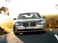 2012 BMW 7 Series, Front View, exterior, manufacturer
