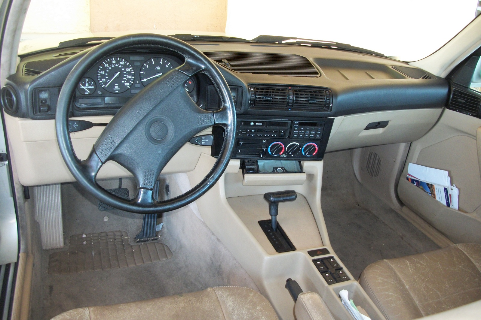 1990 Bmw 5 Series Interior Pictures Cargurus
