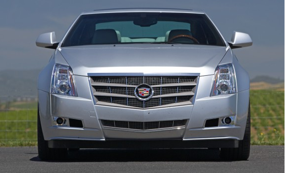 2012 Cadillac CTS Coupe, Front View, exterior, manufacturer