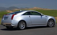 2012 Cadillac CTS Coupe, Back Right Quarter View, manufacturer, exterior