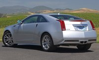 2012 Cadillac CTS Coupe, Back Left Quarter View, manufacturer, exterior