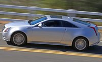 2012 Cadillac CTS Coupe, Left Side View, exterior, manufacturer