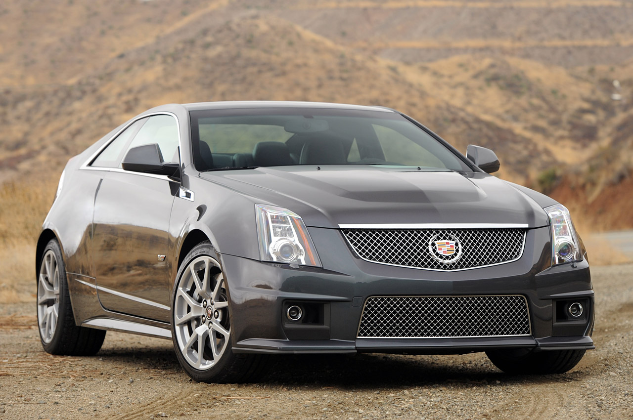 2012 Cadillac CTS-V Coupe, Front Right Quarter View, manufacturer, exterior