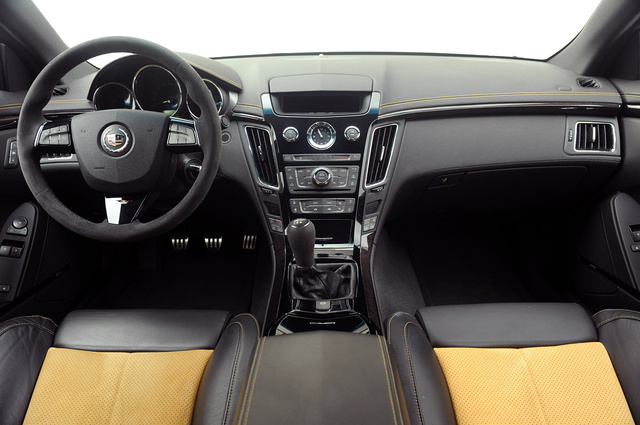 2012 Cadillac CTS-V Coupe, Interior View, interior, manufacturer