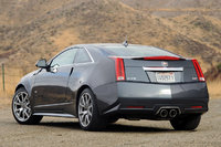 2012 Cadillac CTS-V Coupe, Back Left Quarter View, manufacturer, exterior