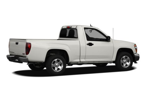 2012 GMC Canyon, Right Side View, manufacturer, exterior