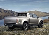 2012 Chevrolet Colorado, Back Right Quarter View, manufacturer, exterior
