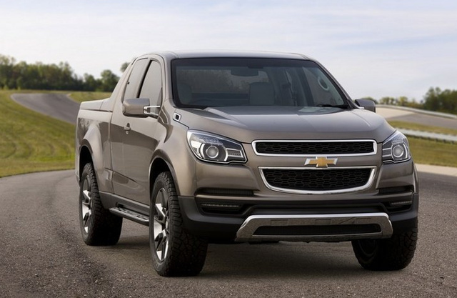 2012 Chevrolet Colorado, Front Right Quarter View, manufacturer, gallery_worthy