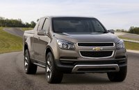 2012 Chevrolet Colorado, Front Right Quarter View, exterior, manufacturer