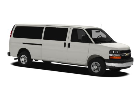 2012 Chevrolet Express, Front Right Quarter View, exterior, manufacturer, gallery_worthy