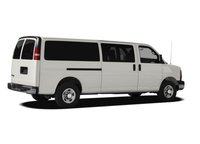 2012 Chevrolet Express, Back Right Quarter View, exterior, manufacturer