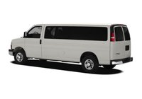 2012 Chevrolet Express, Back Left Quarter View, exterior, manufacturer, gallery_worthy