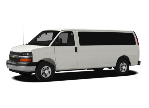 2012 Chevrolet Express, Front Left Quarter View, exterior, manufacturer