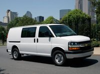 2012 Chevrolet Express, Front Right Quarter view, manufacturer, exterior