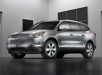 2012 Chevrolet Traverse, Front Left Quarter View, manufacturer, exterior