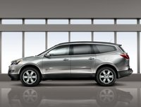 2012 Chevrolet Traverse, Left Side View, exterior, manufacturer