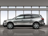 2012 Chevrolet Traverse, Left Side View, manufacturer, exterior