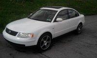"1999 Volkswagen Passat 4 Dr GLS 1.8T Turbo Sedan, 18"" rims, exterior, gallery_worthy"