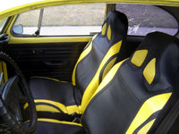 1972 Volkswagen Super Beetle, New Seat covers, interior