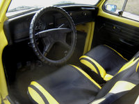 1972 Volkswagen Super Beetle, Dash & seats, interior