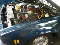 1974 Chevrolet Chevelle, under hood 350 eng with goodes, engine, gallery_worthy