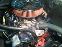 1974 Chevrolet Chevelle, 74 chevelle old school 350 eng, engine
