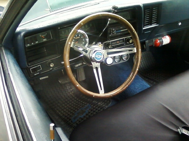 1974 Chevrolet Chevelle, nice inside factor am radio atermaket gauges , interior, gallery_worthy