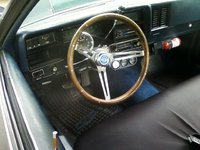 1974 Chevrolet Chevelle, nice inside factor am radio atermaket gauges , interior