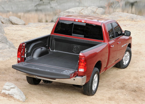 2011 Ram 1500, Back View. , manufacturer, exterior