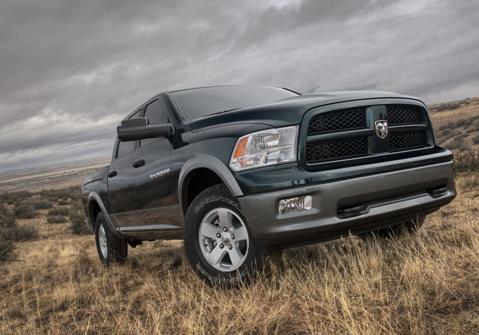 2011 Ram 1500, Front quarter view. , exterior, manufacturer
