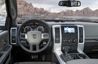 2011 Ram 2500, Steering wheel and sound system. , interior, manufacturer