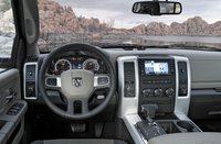 2011 Ram 2500, Steering wheel and sound system. , manufacturer, interior