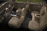 2011 Ram 1500, Front and back seats. , manufacturer, interior