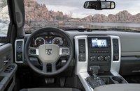 2011 Ram 1500, Steering wheel and sound system., interior, manufacturer
