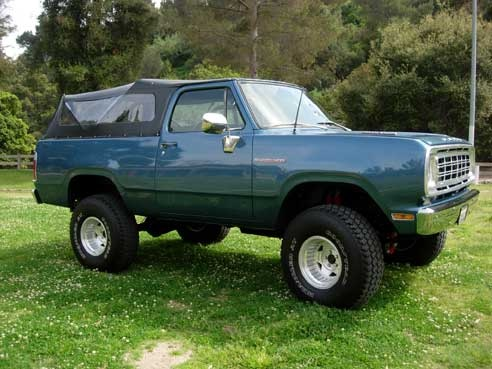 Dodge Ramcharger Pic X