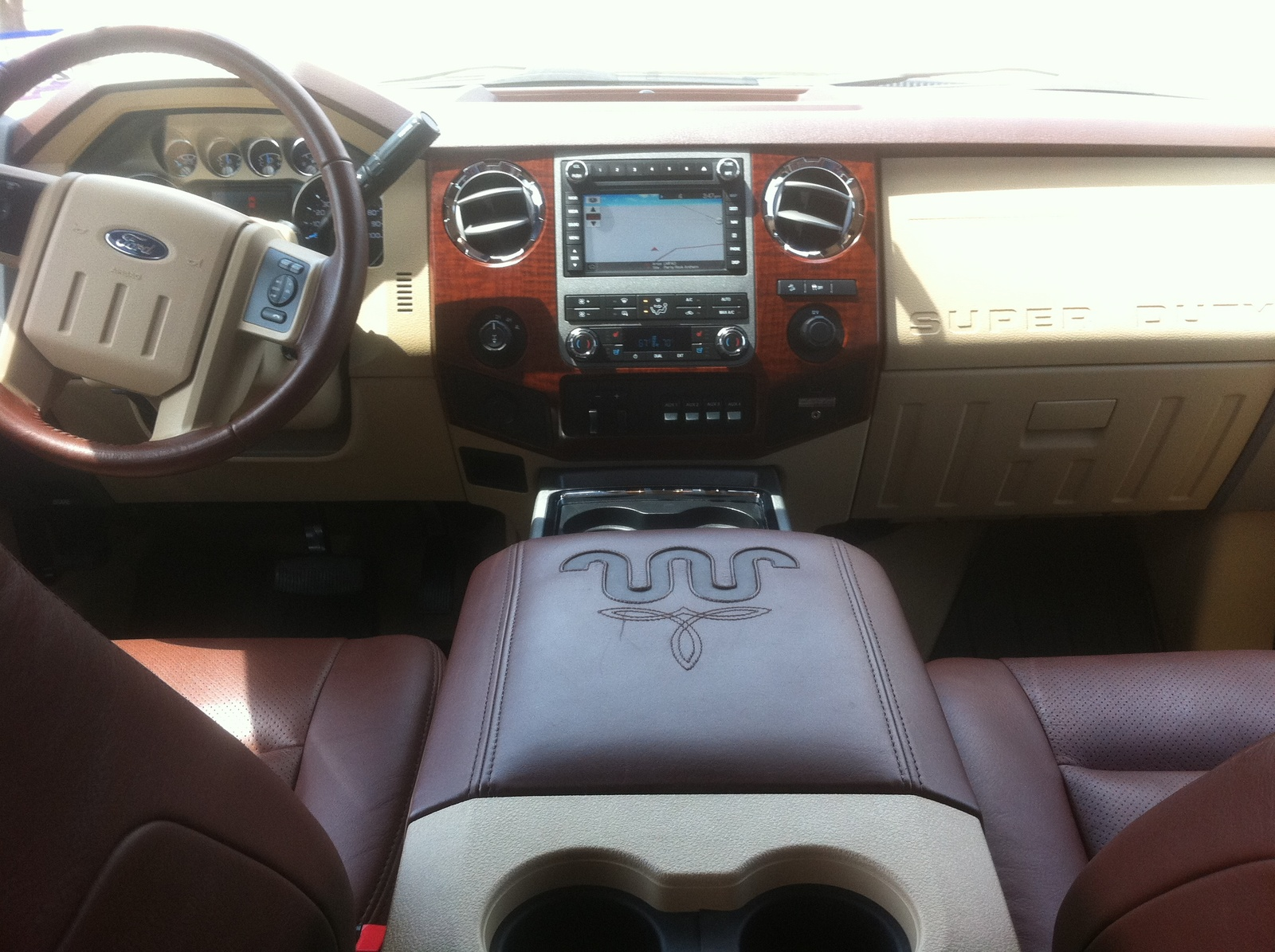 2008 Ford F250 King Ranch Interior