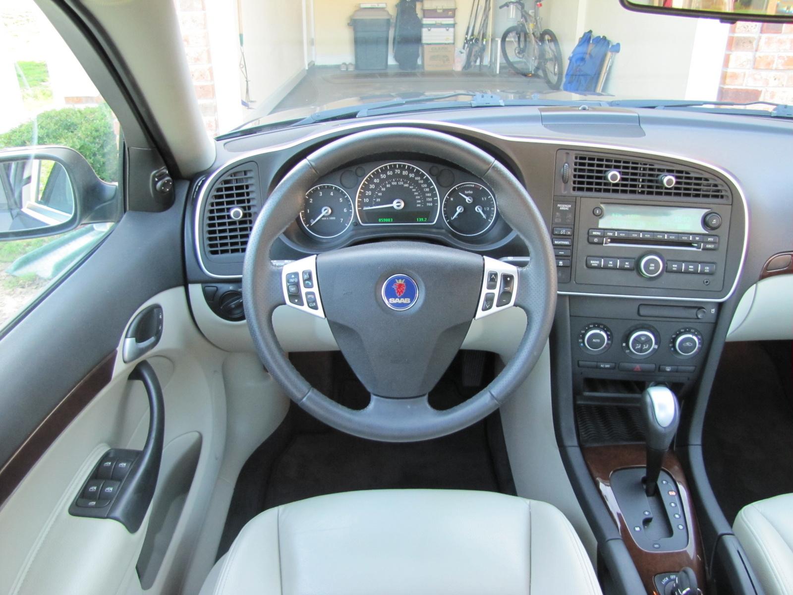 Saab 2007 9-3 2.0t Interior