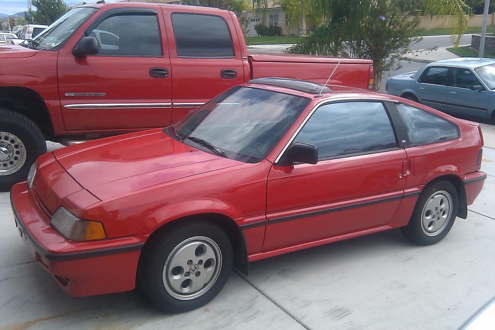 1987 Honda Civic CRX - Pictures - CarGurus