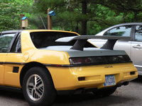 1988 Pontiac Fiero Base, Got the new wing and legs installed, exterior, gallery_worthy