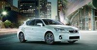 2011 Lexus CT 200h, Front-quarter view, exterior, manufacturer