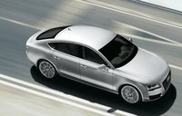 2012 Audi A7, Overhead View, exterior, manufacturer