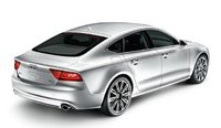 2012 Audi A7, Back Right Quarter View, manufacturer, exterior