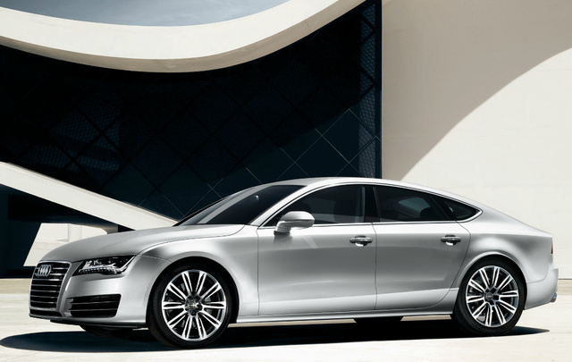 2012 Audi A7, Front Left Quarter View, exterior, manufacturer, gallery_worthy