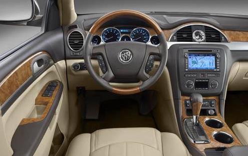 2012 Buick Enclave, Interior View, interior, manufacturer