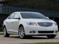 2012 Buick LaCrosse, Front Right Quarter View, manufacturer, exterior