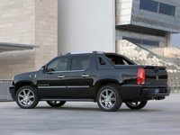 2012 Cadillac Escalade EXT, Back Left Quarter View, exterior, manufacturer
