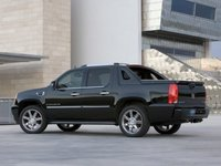 2012 Cadillac Escalade EXT, Back Left Quarter View, manufacturer, exterior