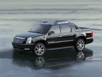 2012 Cadillac Escalade EXT, Left Side View, exterior, manufacturer